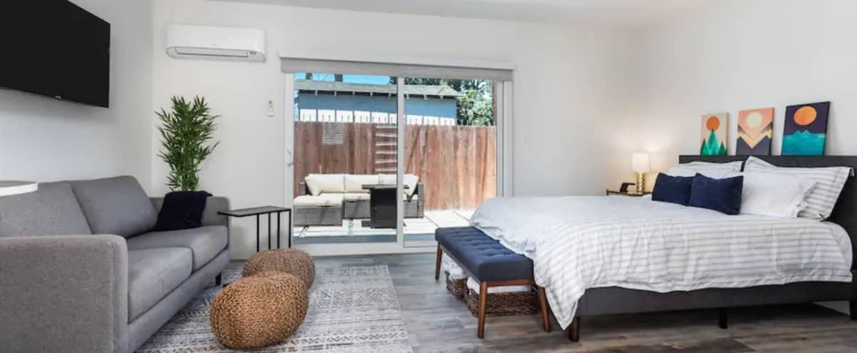 Modern Guest House with Backyard Patio / Bedroom / Bathroom / Studio in Los Angeles Hero Image in Central LA, Los Angeles, CA