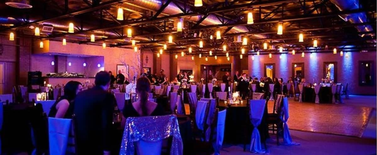 Downtown Dallas Event Center with Classic Bentley Showpiece