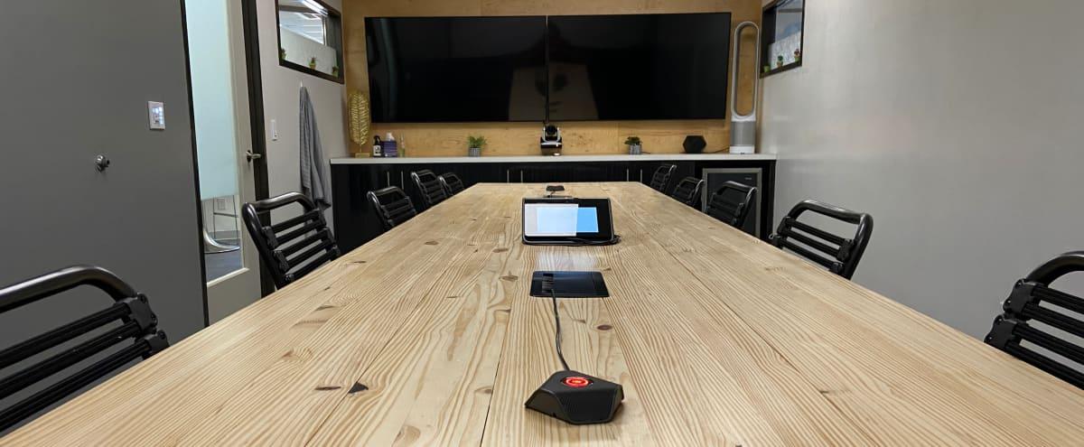 Meeting Space with Dual Screens, Whiteboard Walls, Free Parking in AUSTIN Hero Image in Galindo, AUSTIN, TX