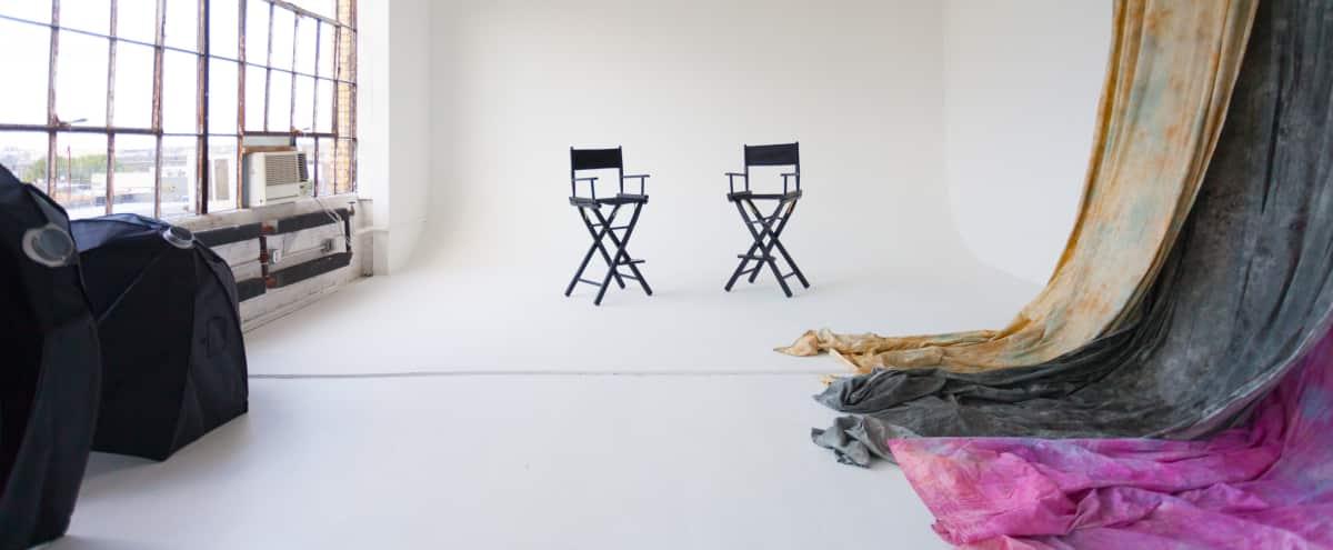 Bushwick Loft Daylight Photo & Video Studio Cyclorama in Brooklyn Hero Image in East Williamsburg, Brooklyn, NY
