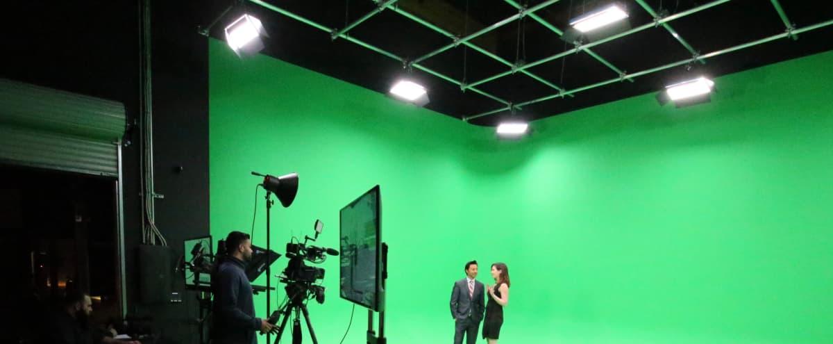 Green Screen Studio in World Class Production Facility in San Diego Hero Image in Miramar, San Diego, CA
