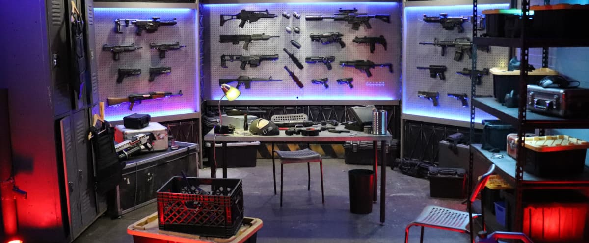 Weapons Bunker Room filled with Armory, Guns for Production in Burbank Hero Image in undefined, Burbank, CA