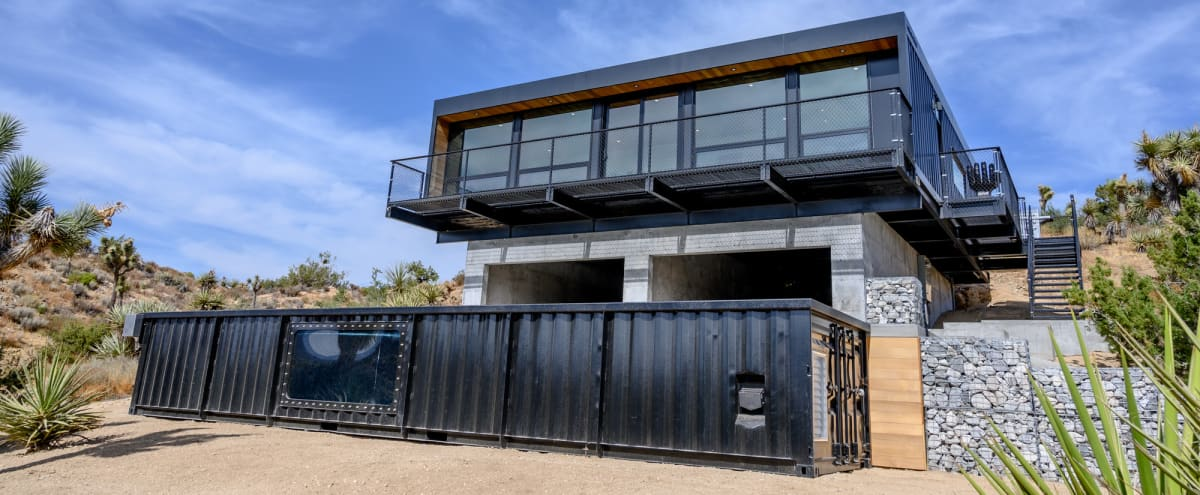 Shipping Container home on 20 acres of lush high desert landscape in Yucca Valley Hero Image in undefined, Yucca Valley, CA
