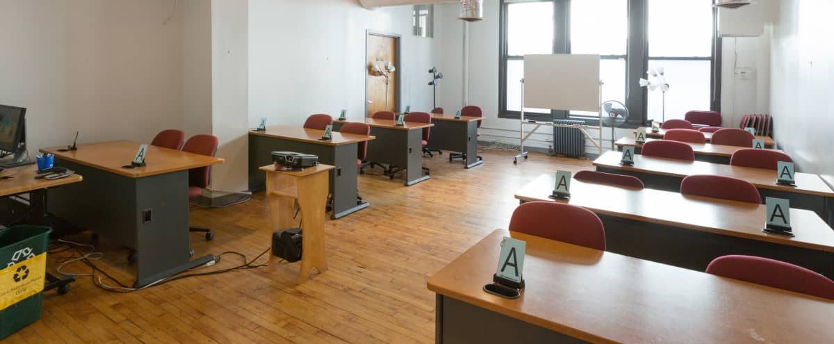 Corporate Event / Classroom Space In Chelsea - Room 9-3 in New York Hero Image in Midtown, New York, NY