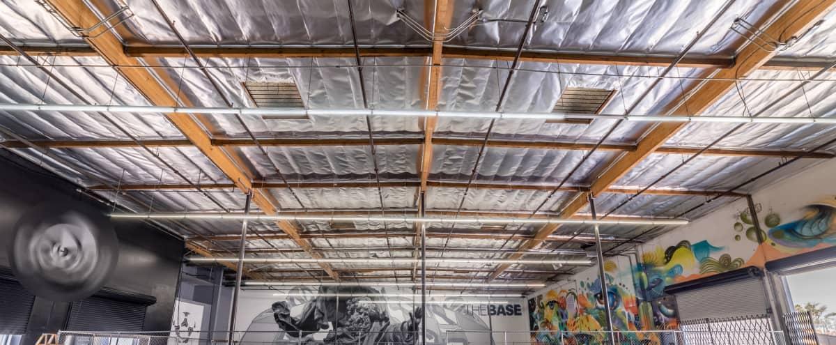 Huge Industrial Urban Arts / Street Sports Venue with 24' High Ceilings in Los Angeles Hero Image in Central LA, Los Angeles, CA
