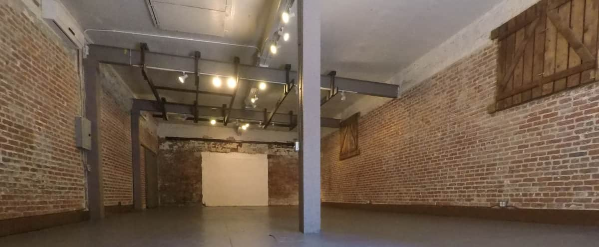 Raw Brick Warehouse for Events in Los Angeles Hero Image in Central LA, Los Angeles, CA