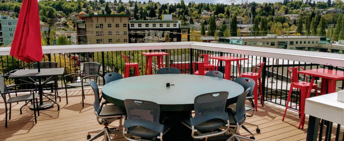 Creative Space with Rooftop Deck in Seattle Hero Image in Fremont, Seattle, WA