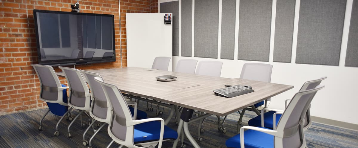 Sleek Modern Conference Room | Dodgeball in Oakland Hero Image in Downtown Oakland, Oakland, CA