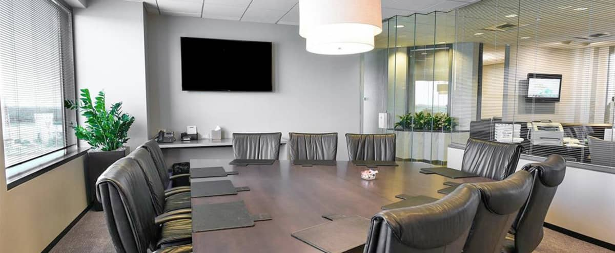 Spectacular Schaumburg, Illinois 10 Person Conference Room-1901 N. Roselle Rd. 8th Floor in Schaumburg Hero Image in undefined, Schaumburg, IL