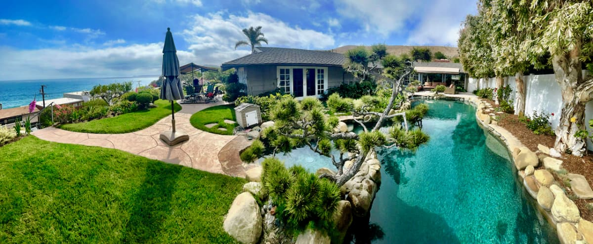Bluff House Across From Ocean with 360* Views in Malibu Hero Image in Central Malibu, Malibu, CA