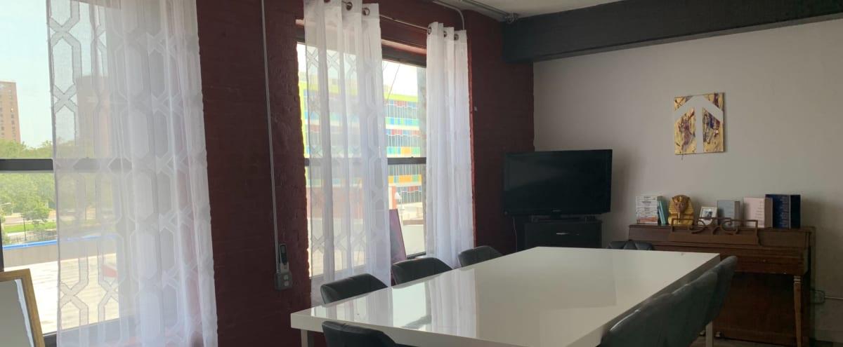 Versatile Studio with Large Windows in Bronx Hero Image in Port Morris, Bronx, NY