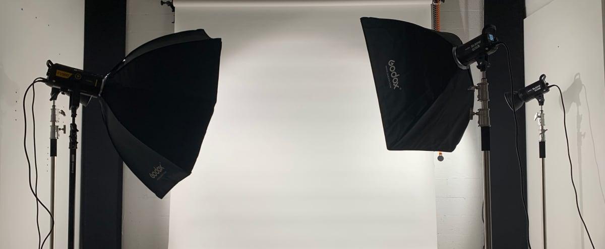 Professional Photo & Video Studio with Backdrops (Studio B) in Miami Hero Image in Little River, Miami, FL