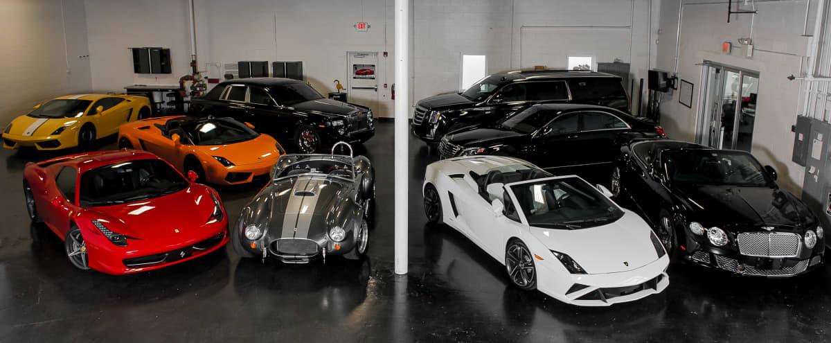 Minimalist Warehouse With Exotic And Luxury Cars Included in Pennsauken Hero Image in undefined, Pennsauken, NJ