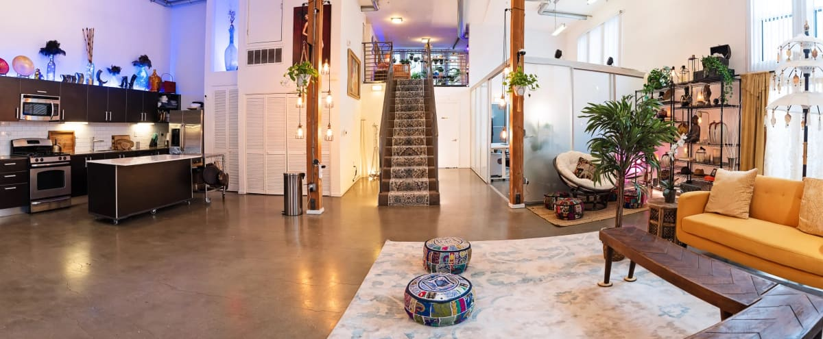 2300 sq ft luxury studio loft w/ natural light, patio, plants and foliage in Los Angeles Hero Image in undefined, Los Angeles, CA