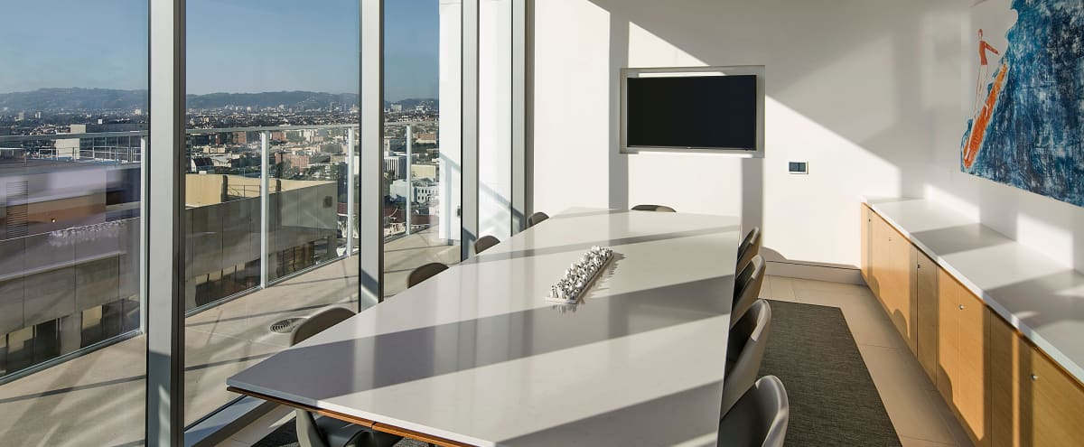Executive Conference Room with Breathtaking Skyline Views in Los Angeless Hero Image in Central LA, Los Angeless, CA