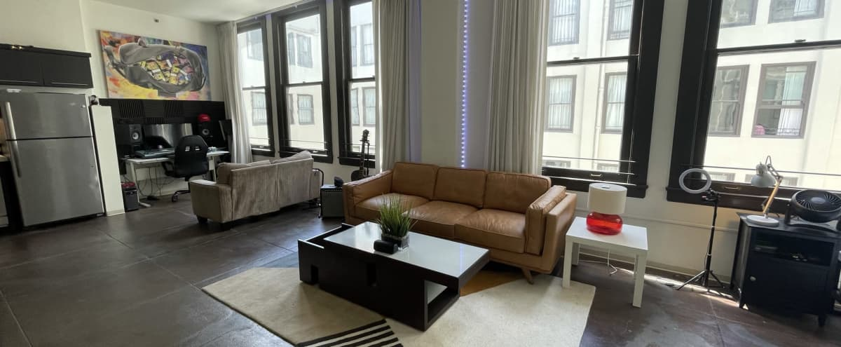 Downtown Loft - 11ft Ceilings and 6 floor to Ceiling windows. in LOS ANGELES Hero Image in Central LA, LOS ANGELES, CA