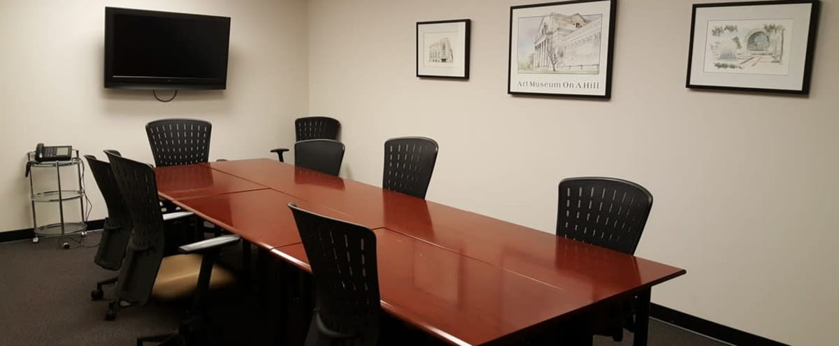 Private Boardroom with TV Access in St. Louis Hero Image in undefined, St. Louis, MO