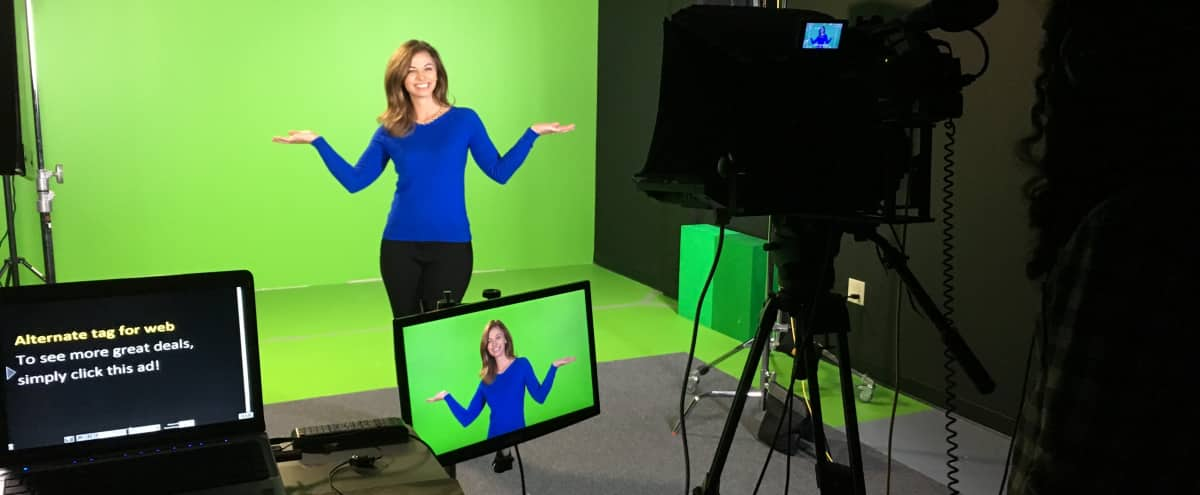 Sound Proofed Studio with Green Screen in Chamblee Hero Image in undefined, Chamblee, GA