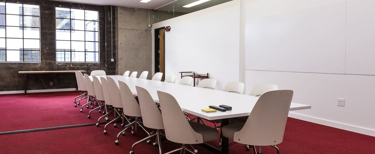 Large Equipped Boardroom in Portland Hero Image in Northwest Portland, Portland, OR