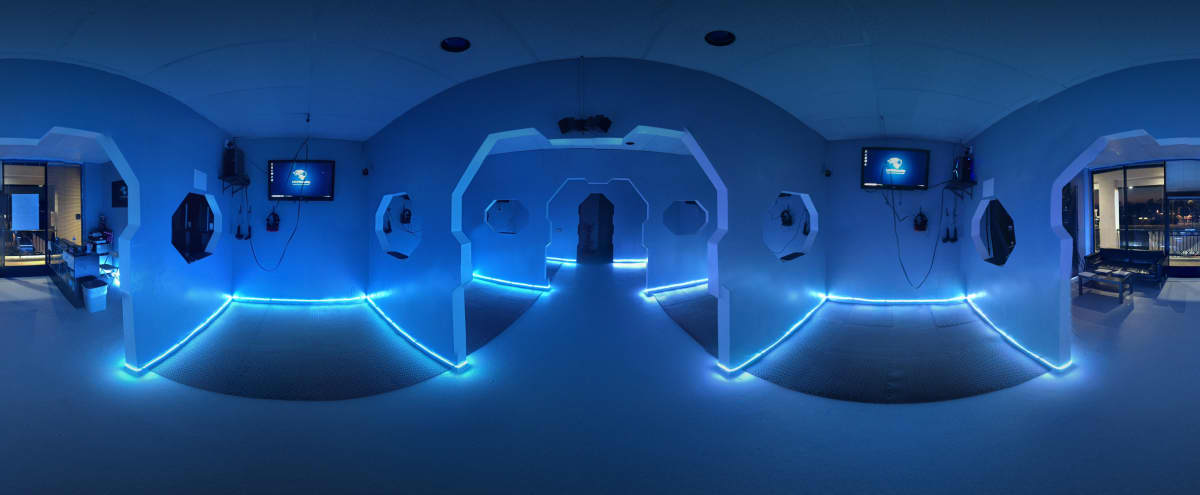 Virtual Reality venue with futuristic interior in Los Angeles Hero Image in Mar Vista, Los Angeles, CA