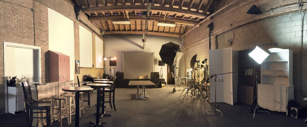 Inspiring Raw Industrial Photography Studio and Event Space in Chicago Hero Image in Logan Square, Chicago, IL