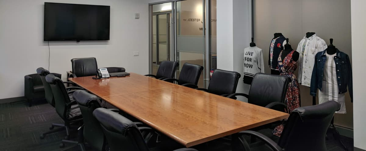 Union Square Conference Room with Showcase Area in New York Hero Image in Midtown, New York, NY
