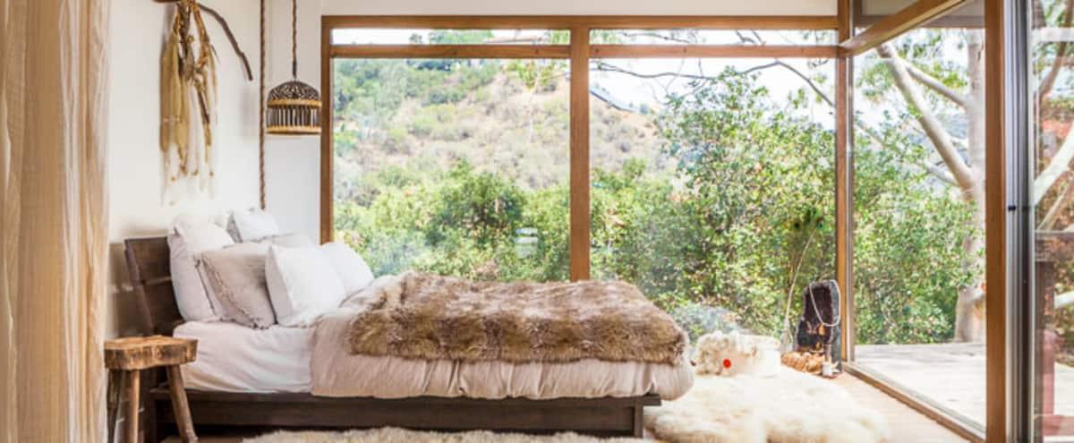 Topanga Mid-century Modern Home with Ocean View in Topanga Hero Image in undefined, Topanga, CA