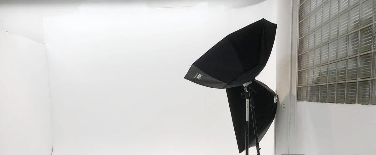 Studio - 400 Sq. Feet. White Built-in Seamless Backdrop and Makeup Room in Meriden Hero Image in undefined, Meriden, CT
