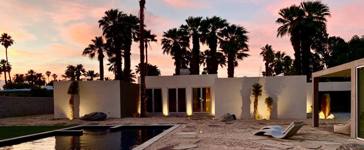 Architecturally Significant Minimalist Desert Oasis in Palm Springs Hero Image in El Mirador, Palm Springs, CA