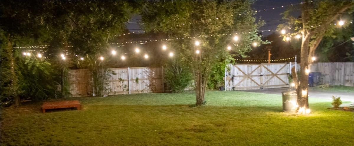 Flexible Residential Outdoor Space in Dallas Hero Image in Oak Cliff, Dallas, TX