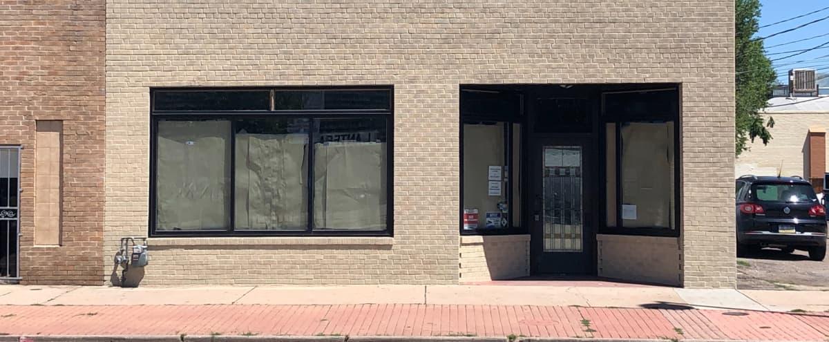 Abandoned Mainstreet 1940's Brick Facade Retail Space in Denver Hero Image in Barnum, Denver, CO