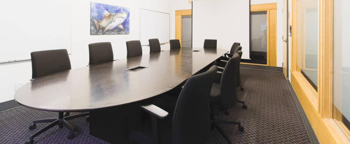 Large 12 Person Meeting Room w/ Projector in Vancouver Hero Image in Downtown Vancouver, Vancouver, BC