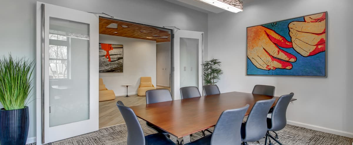 Convenient Conference Room with Concierge, Wifi, Smart TV, and Seating for 8 in Arlington Hero Image in Crystal City, Arlington, VA