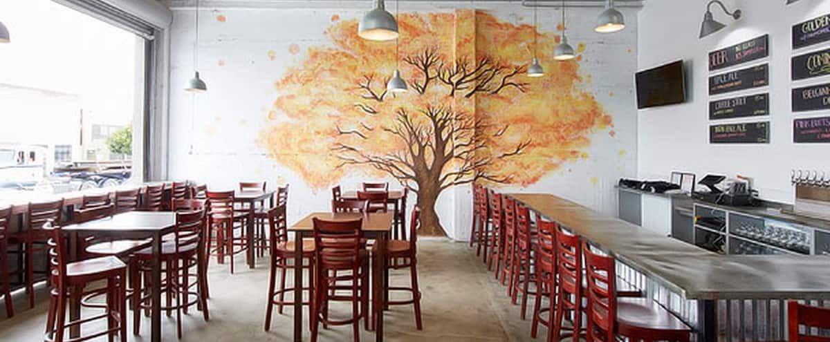 Tree Mural Brewery for Presentations in San Francisco Hero Image in Bayview, San Francisco, CA