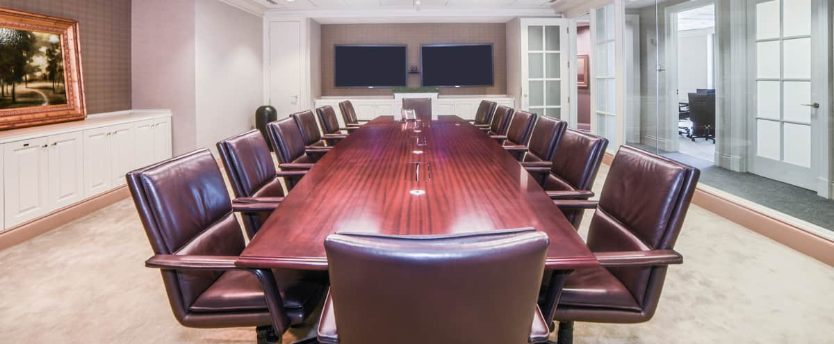 Atlantic Boardroom and Conference Corporate Suite in Atlanta Hero Image in Midtown, Atlanta, GA