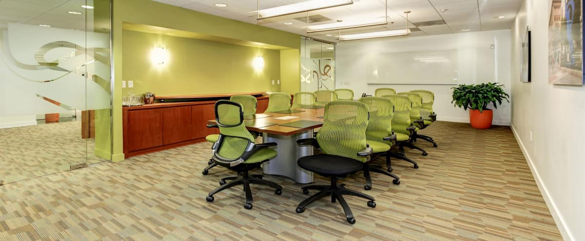 Cabinet Boardroom near DC's City Center in Washington Hero Image in Northwest Washington, Washington, DC