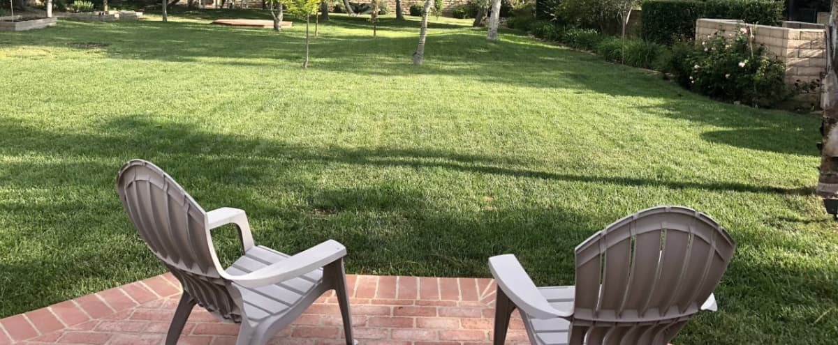 Park like backyard on a 15,500 square foot lot in Chatsworth Hero Image in Chatsworth, Chatsworth, CA