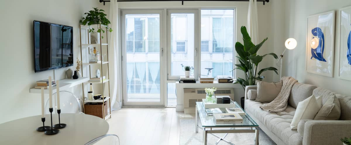 Artist Inspired Spacious Light-filled One Bedroom in Brooklyn Hero Image in Downtown Brooklyn, Brooklyn, NY