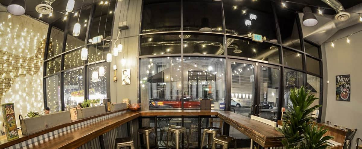 Hip DTLA Restaurant with Modern Decor and Ample Parking in Los Angeles Hero Image in Central LA, Los Angeles, CA