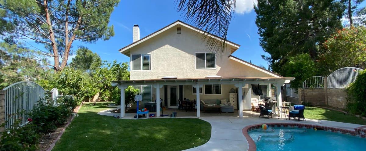 Classic home with pool and jacuzzi in Valencia Hero Image in undefined, Valencia, CA