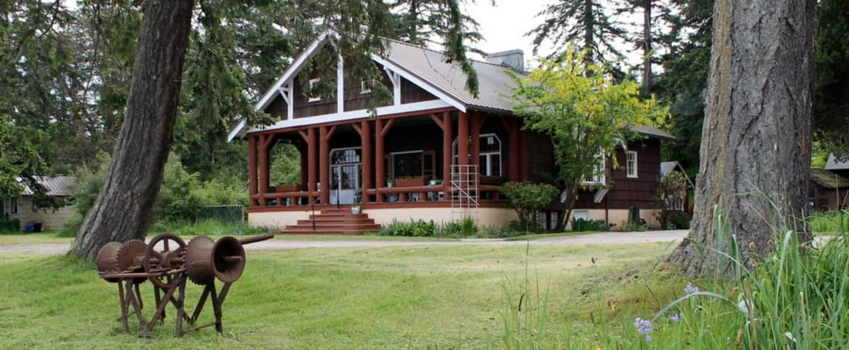 Vintage Beachfront Lodge on Orcas Island in Eastsound Hero Image in The Lodge, Eastsound, WA