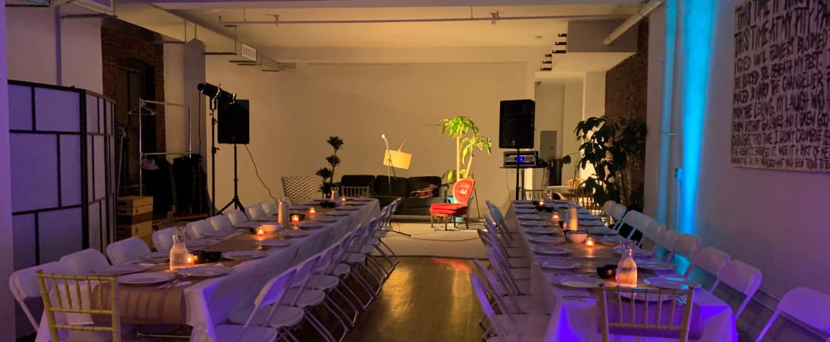 3,000 sq/ft Versatile Williamsburg Loft - Intimate Events and Gatherings in Brooklyn Hero Image in South Williamsburg, Brooklyn, NY