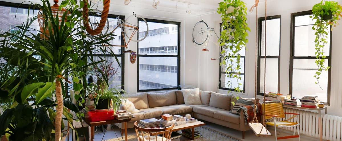 Greenhouse Loft with 20 Windows in new york Hero Image in Midtown, new york, NY