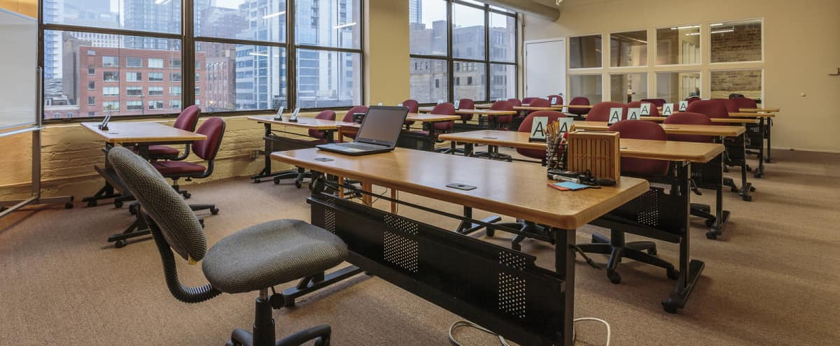 Corporate Event / Classroom Space in Chicago's River North Area in Chicago Hero Image in River North, Chicago, IL