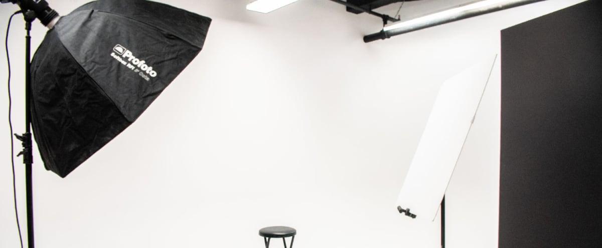 Spacious open studio with cyc wall & equipment, Chelsea Manhattan in New York Hero Image in Midtown Manhattan, New York, NY