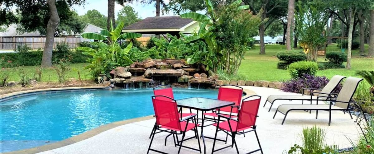 Spacious 4 Arce Home w/ Swimming Pool and BBQing - Ranch Escondido in TOMBALL in Tomball Hero Image in undefined, Tomball, TX