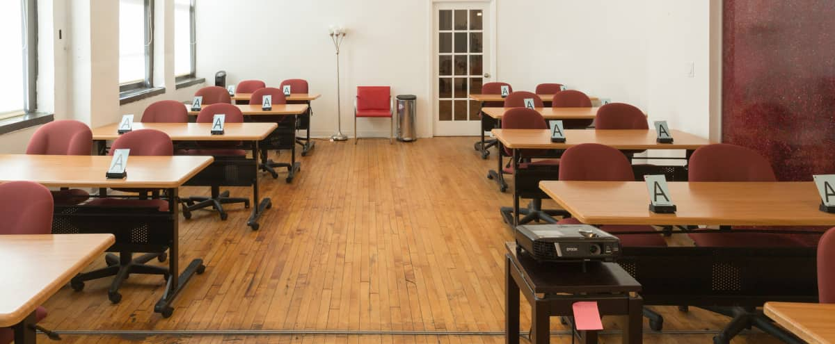 Corporate Event / Classroom Space In Chelsea - Room 7-2 in New York Hero Image in Midtown, New York, NY