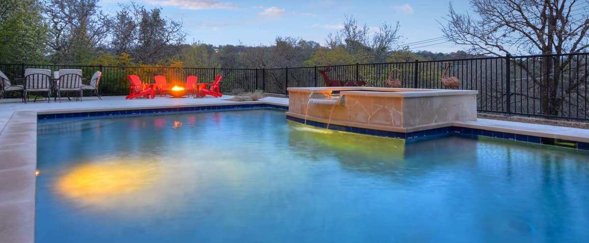 ZENTASTIC NEAR-DOWNTOWN GATED HOME & BACKYARD/POOL OASIS in Austin Hero Image in Stratford Place, Austin, TX