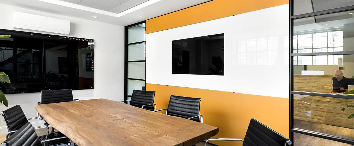 Equipped Meeting Room | Urban Industrial Vibe with Parking in Boston Hero Image in Dudley / Brunswick King, Boston, MA