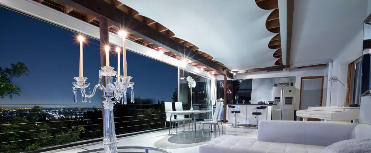 Hollywood Hills Contemporary Retreat - Stellar View in Los Angeles Hero Image in Central LA, Los Angeles, CA